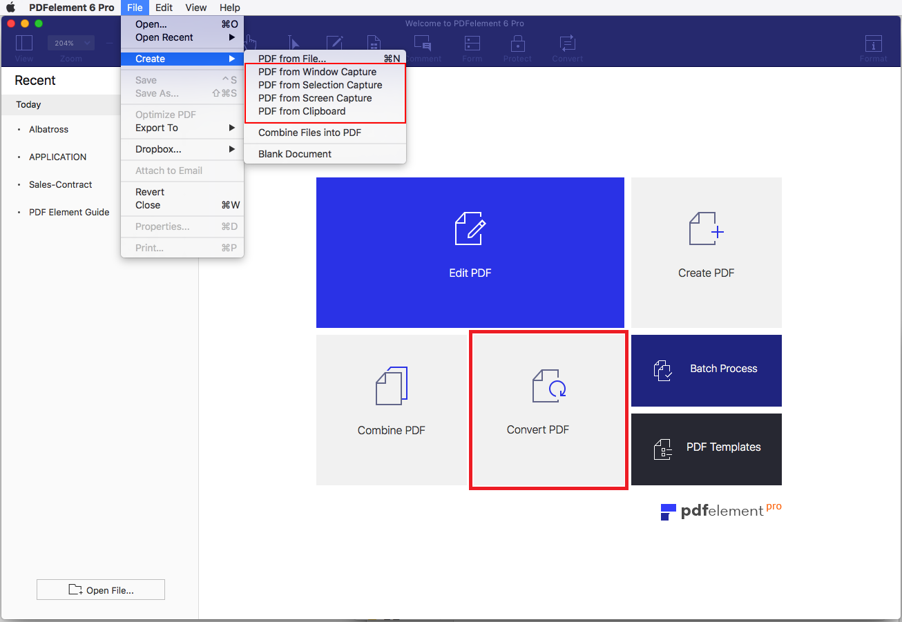 convertire pdf in immagini mac