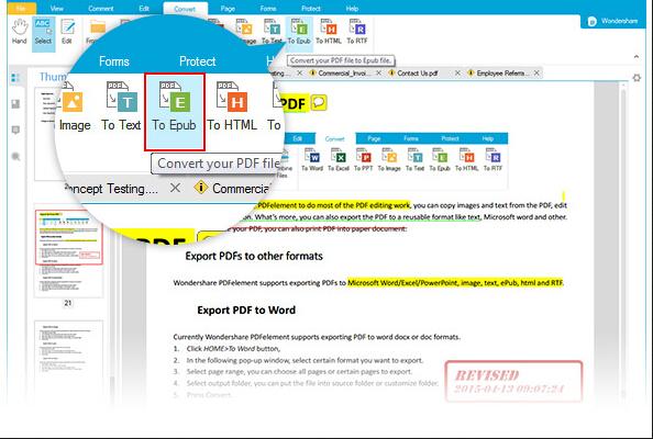 PDF to ePub Converter for Mac OS X, converting PDF files to ePub for