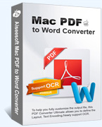 Mac PDF to Word